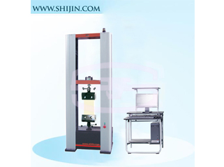 Geotextile material testing machine